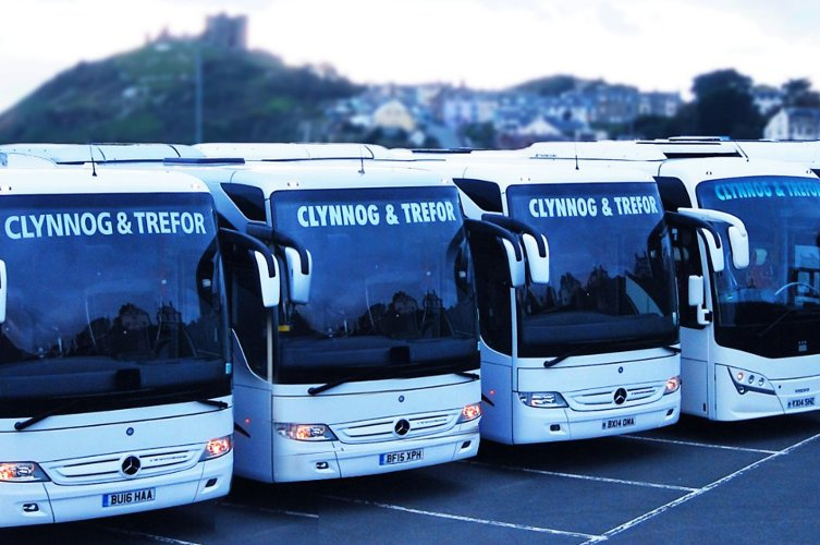 Coach Hire for schools & colleges Coach Hire North Wales  - Clynnog and Trefor